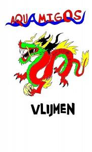 Mascotte Aquamigos - Chinese Draak