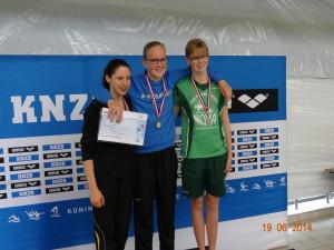 Laura Nederlands Kampioen met EYOF