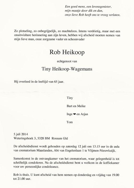 condoleancekaart-Rob-Heikoop