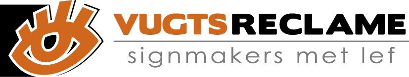 Logo Vugts Reclame Liggend 2013