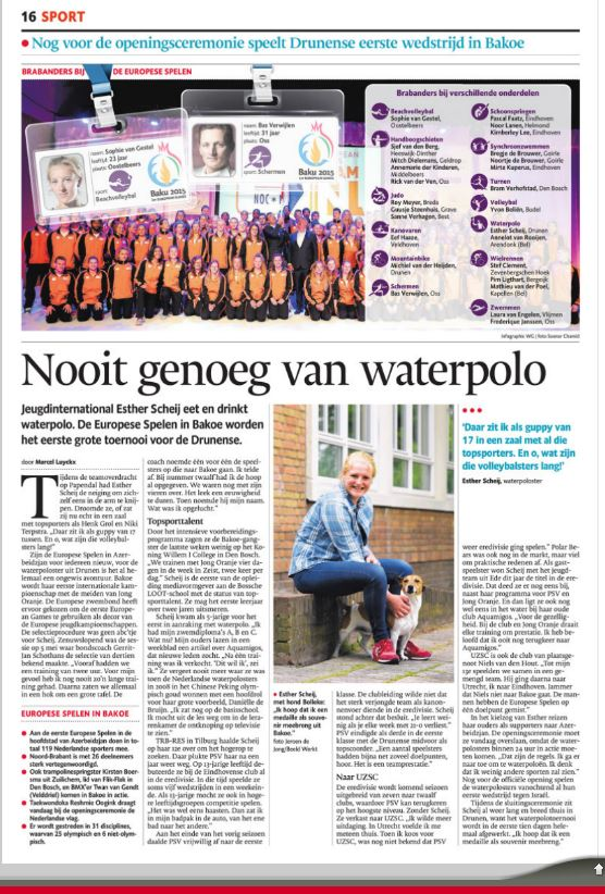 Brabants Dagblad 12-6-2015_ Esther Scheij