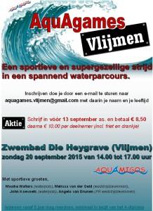 AquAgames Vlijmen poster JPEG