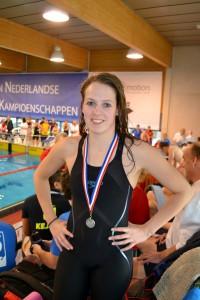 2016-01-22 ONMK Papendrecht Melissa van der Geld (zilver)